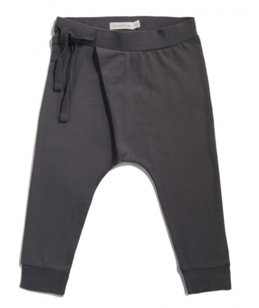 Phil + Phae Harem pants - Graphit