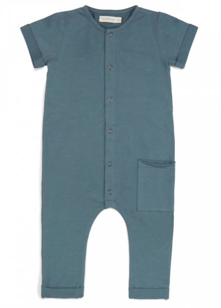 Phil + Phae pocket jumpsuit - balsamblue