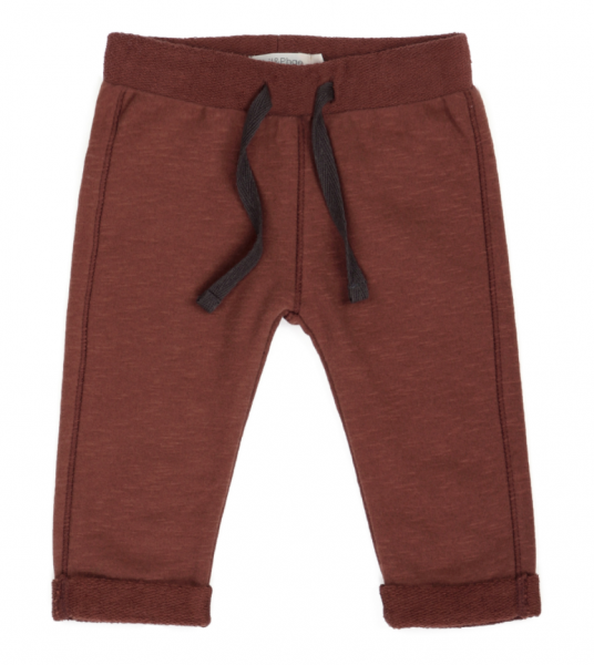 Phil + Phae sweat pants slub - russet