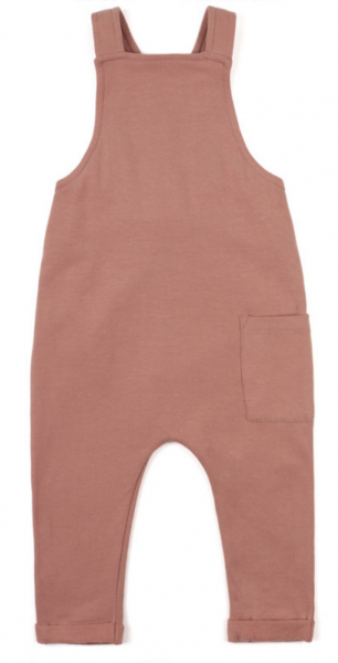Phil + Phae Salopette / Sweat-Latzhose - Dusty blush