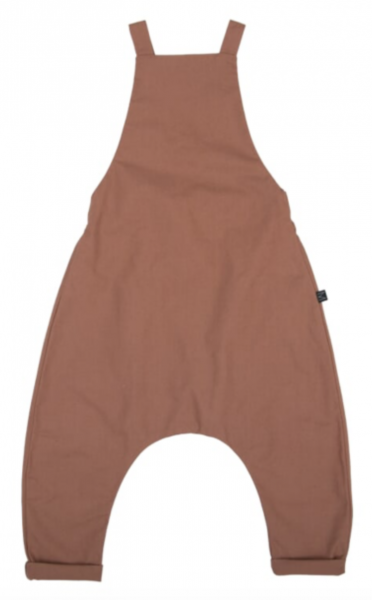 Monkind Soil Dungarees - Brown