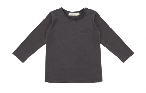 Phil + Phae Pocket tee / Langarmshirt - Graphit