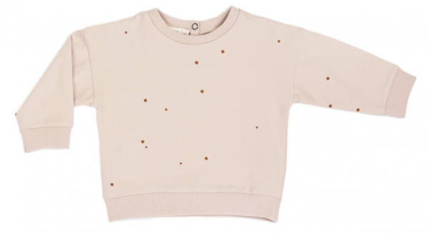 Phil + Phae summer sweater - dots shell