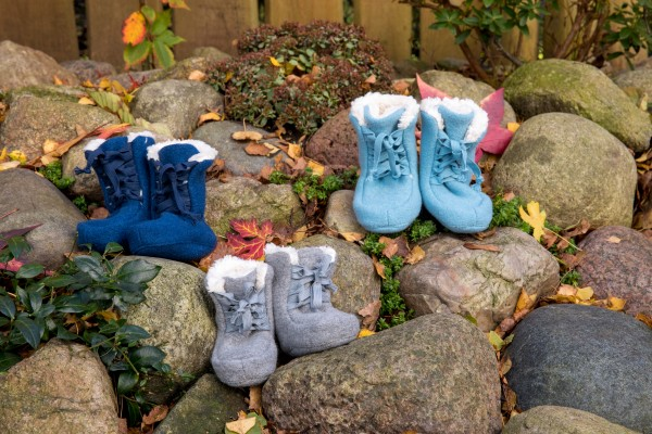 Pickapooh Walk - Booties grau meliert
