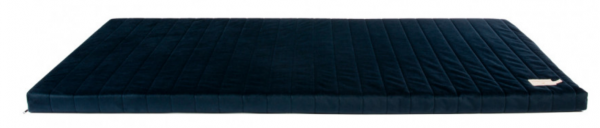 Nobodinoz ZANZIBAR Velvet Mattress / Samt-Matratze - NIGHT BLUE