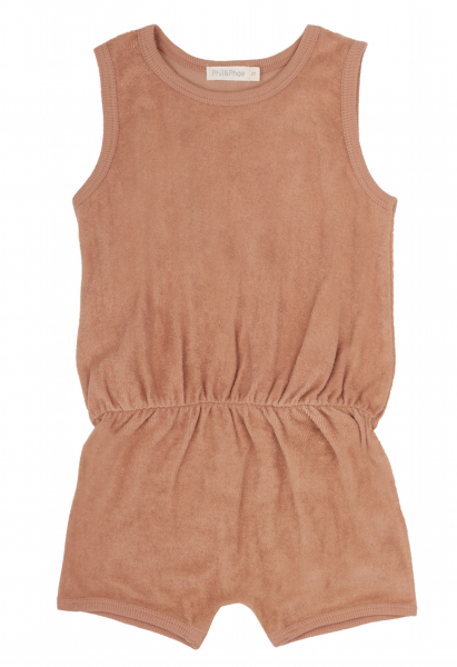 Phil + Phae Frotté Playsuit warm biscuit - Overall